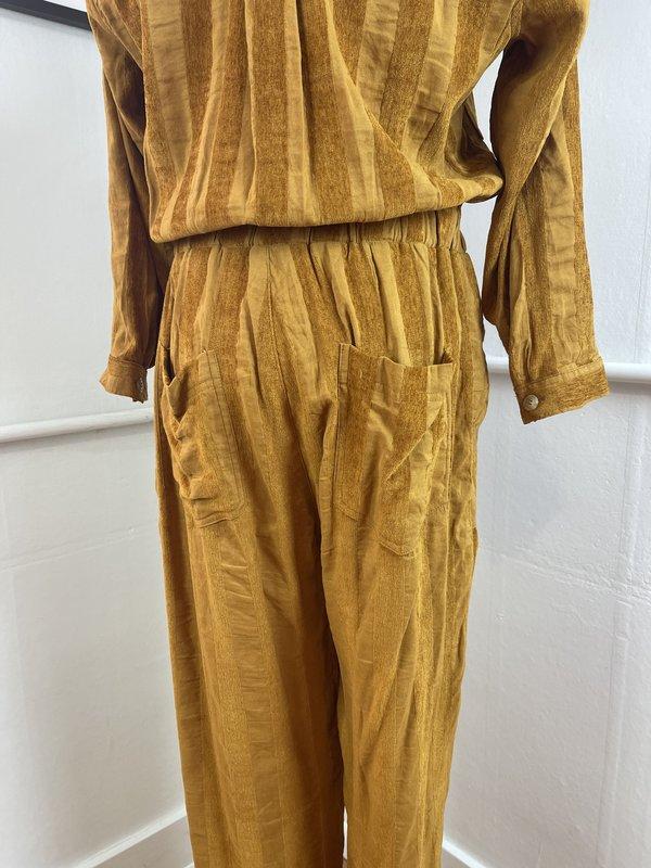 The Odells Burnt Orange Machina Jumpsuit (S/M)