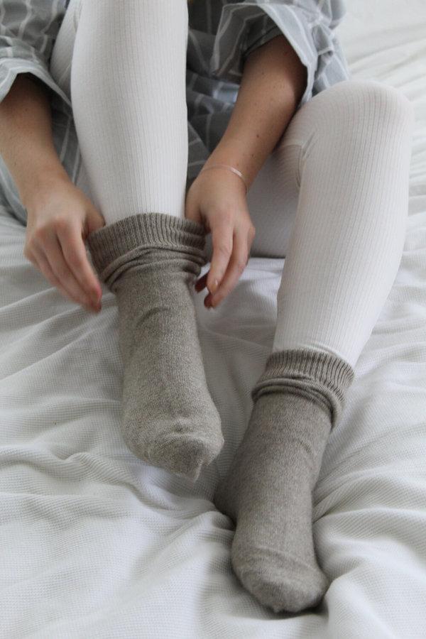 General Sleep Bed Socks - Oatmeal