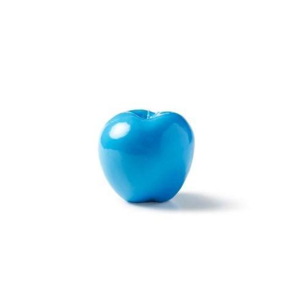 Apple Candle, Light Blue