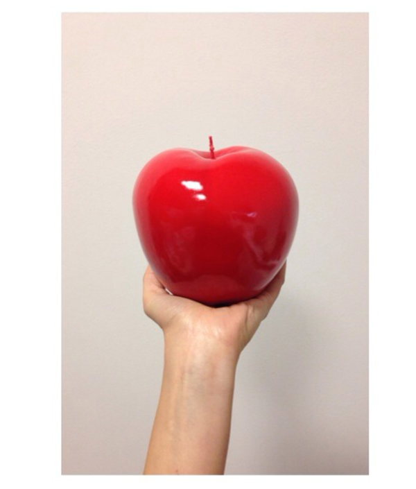 Apple Candle, Red