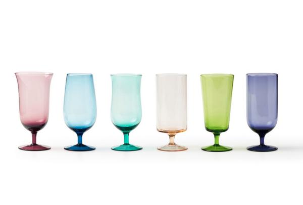 Beer Glasses, Rainbow