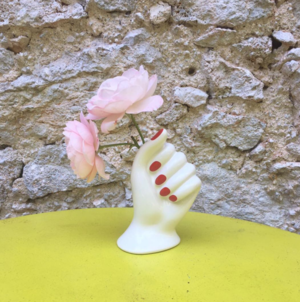 Ceramic Polished Nails Vase