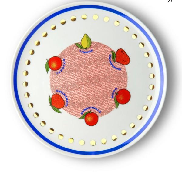 Citrus Round Platter