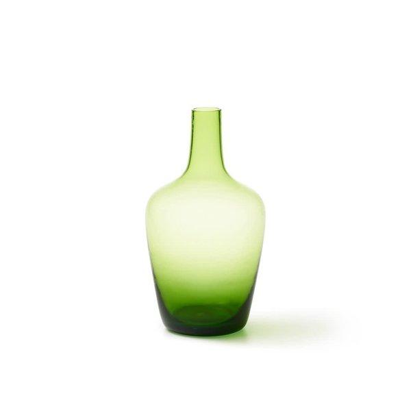 Green Bottle & Vase