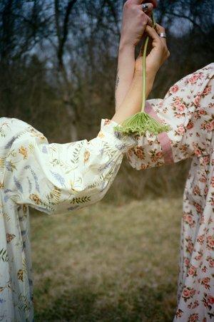 Meadows Lavender Dress - Spring Haze