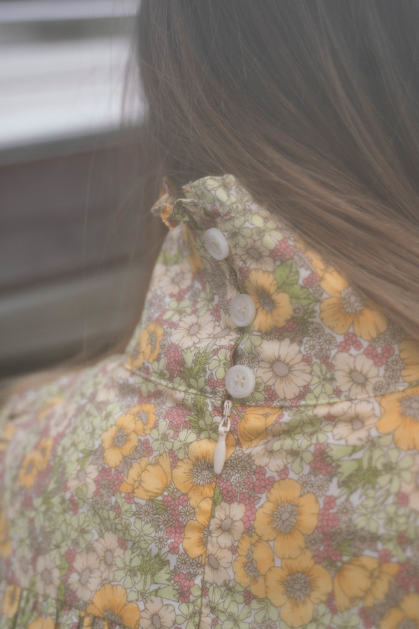 Meadows Lupin Top - Joplin Floral
