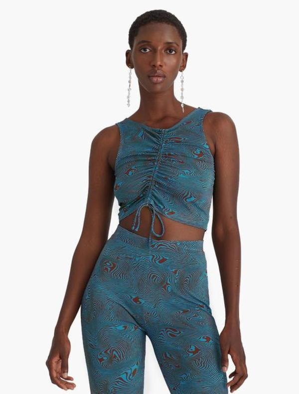 Paloma Wool Luca Top - Blue Swirl