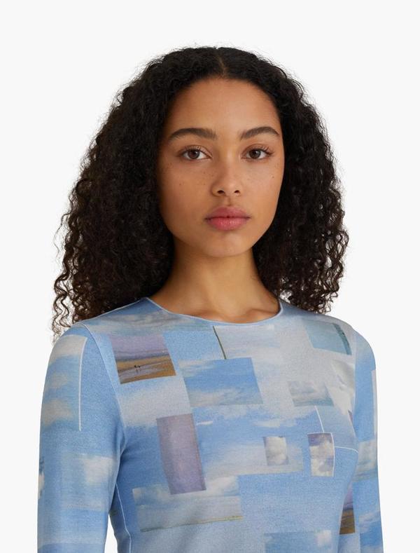 Paloma Wool Sky Top - Nuvole/Blue