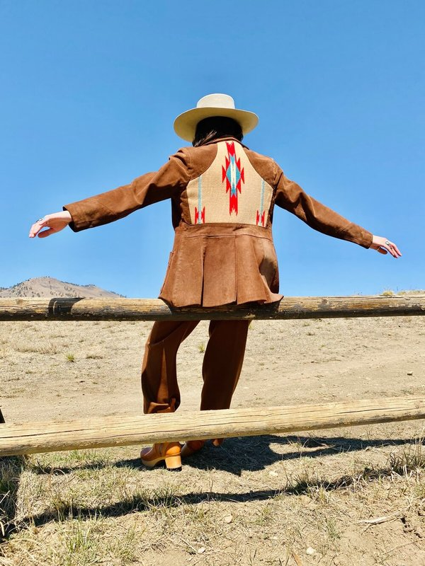 LONG RIDE HOME CHIMAYO SUEDE JACKET