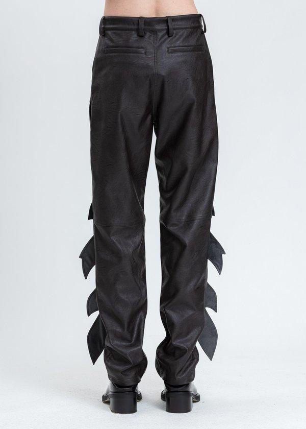 Y/project Flame Pant - Dark Brown