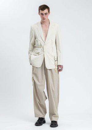 Hyein Seo Detachable Jacket - Ivory