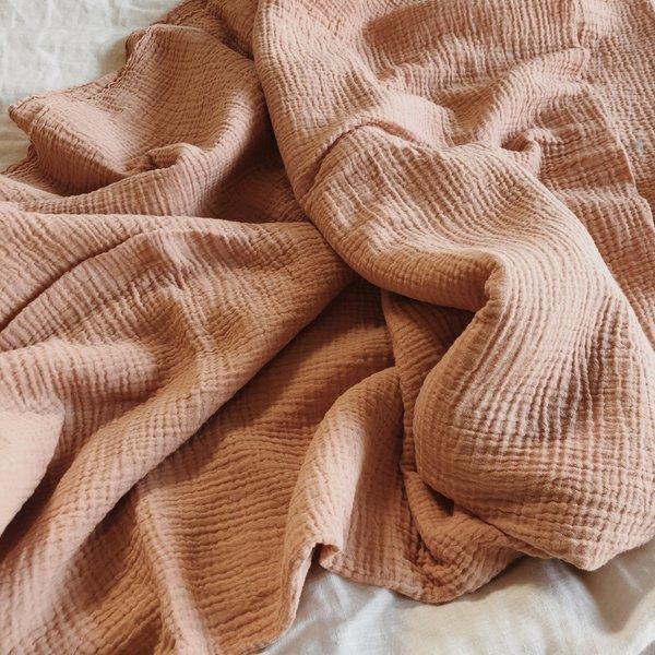 Vildblume - Organic Blanket Wrap / Geode