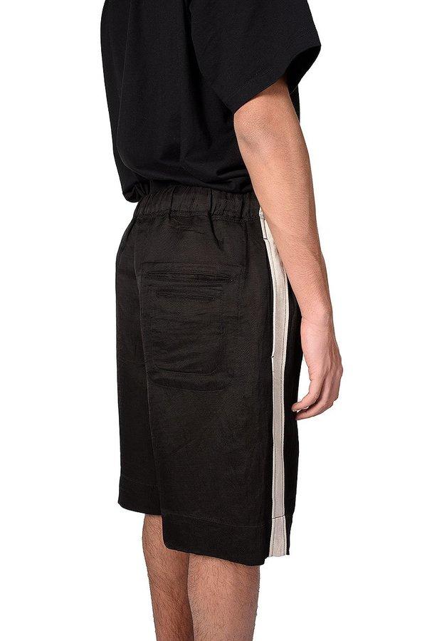 Twill Side Tape Drawstring Shorts