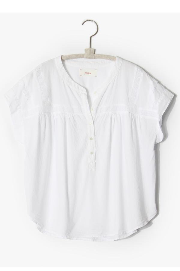 Xirena Aubrey Top - White