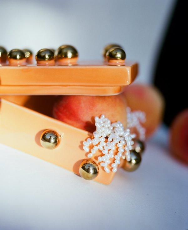 Jewellery Box, Tangerine