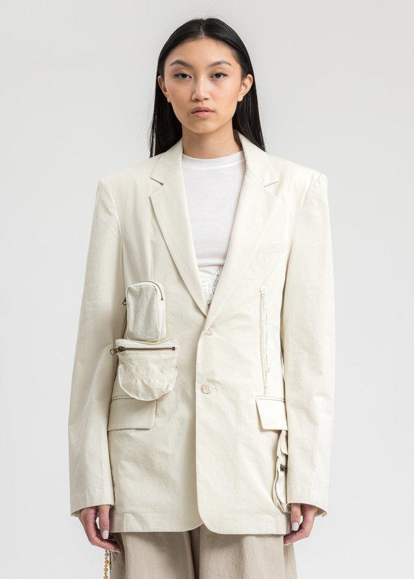 Hyein Seo Detachable Jacket - Ivory