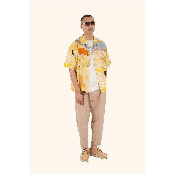 Drôle De Monsieur beach riviera shirt - Beige