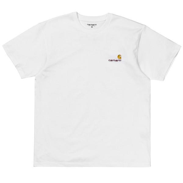 S/S American Script T-Shirt 'White'