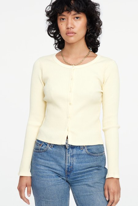 Lacausa Lucy Cardigan - Butter