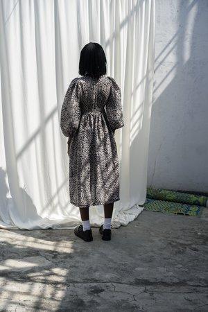 ReRuns Esaso Dress in Snakebite