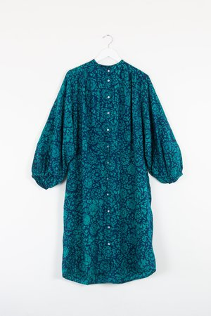 ReRuns Flouncy Dress in Lady in Shallot