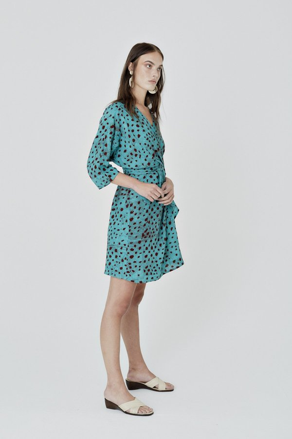 ReRuns Shaya Dress in Baby Giraffe