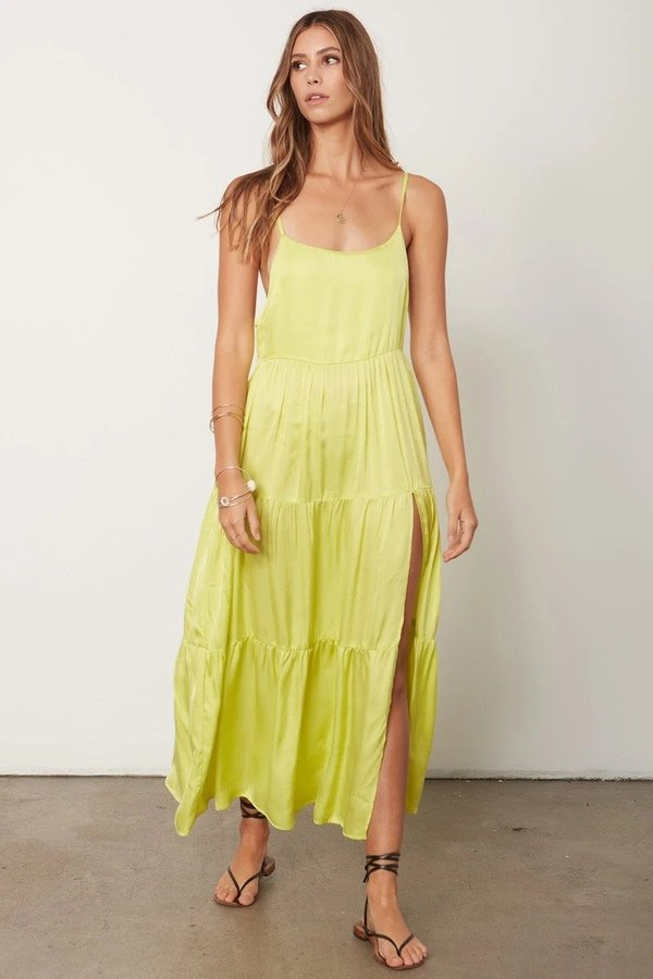 Stillwater Memz Maxi Dress - Citron