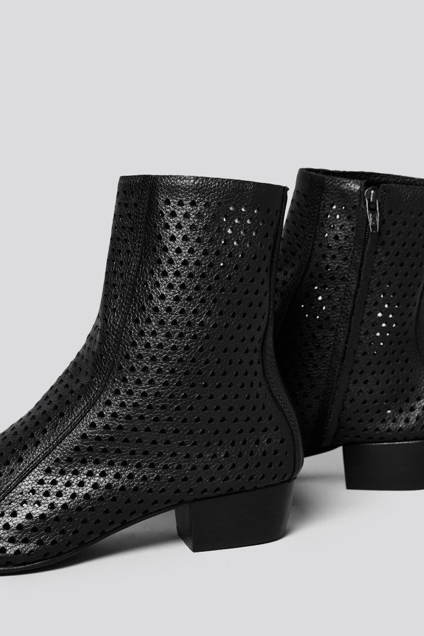 Rachel Comey Cove Leather Boot - Perf Black