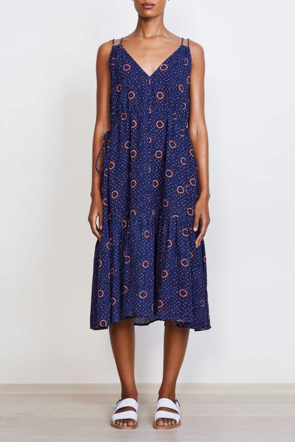 Apiece Apart Daphine Dress - Shibori Dot