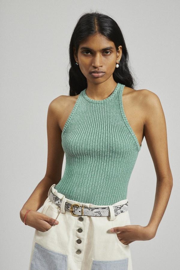 Rachel Comey Senna Knit Tank - Sage