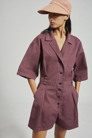 Rachel Comey Larch Shortsuit - Clay