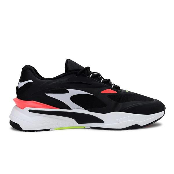 RS-Fast Tech 'Puma Black - Puma White - Fiery Coral'