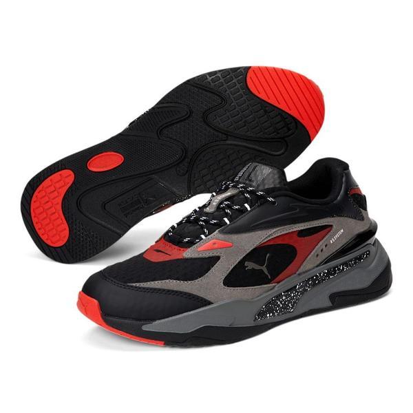 Rs-Fast AM 'Castlerock / Puma Black / High Risk Red'