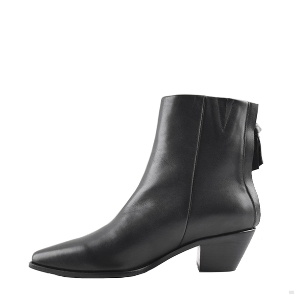 """""""INTENTIONALLY __________."""" Sol Sana Woodie Boot - Black"""