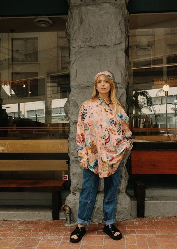 Rachel Comey Isa Shirt - Peach