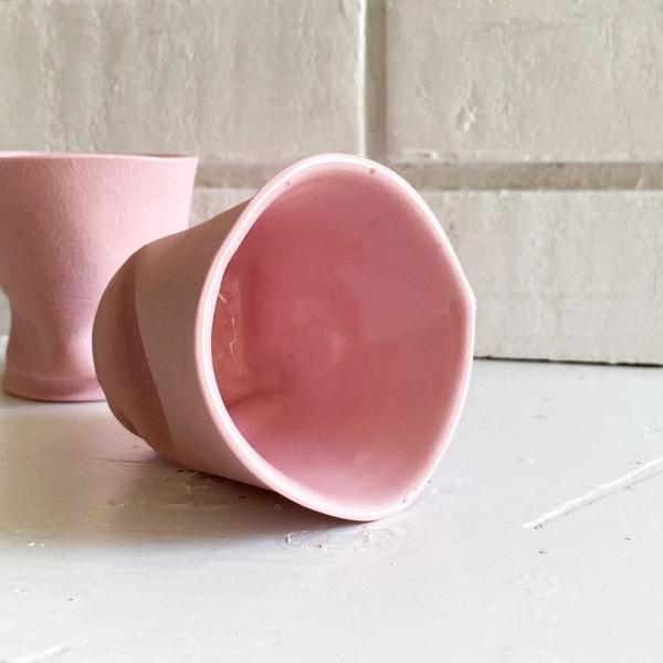 Blush Cambucho Porcelain Cup