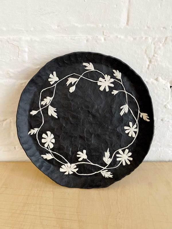 Flower Vine Plate