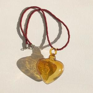 Glass Heart Necklace