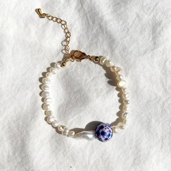 Margot Baroque Pearl Bracelet