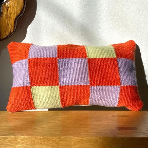 Mini Checkers Pillow