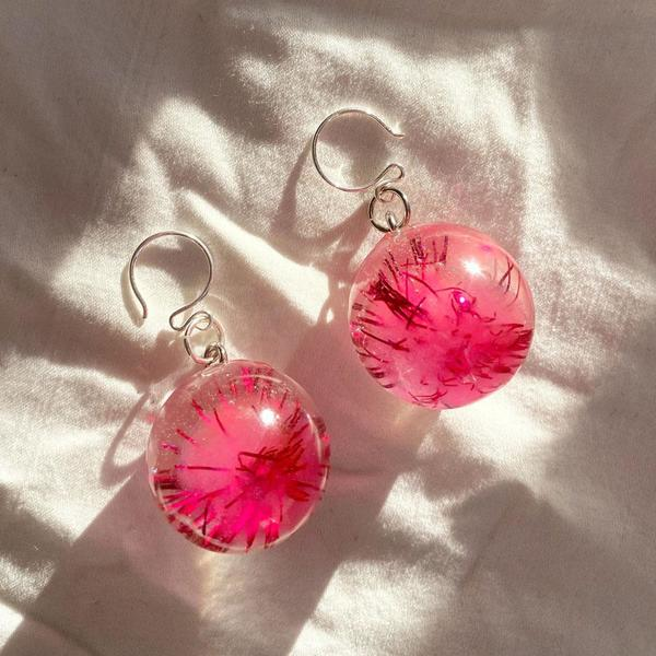 Pom Pom Sprite Earrings
