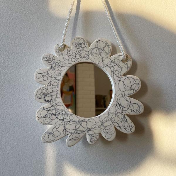 Scribble Wall Mirror