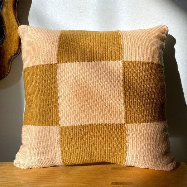 Square Checkers Pillow