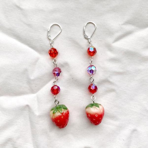 SJO Jewelry Strawberry Fields Earrings
