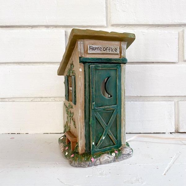Vintage Ceramic Home Office Lamp