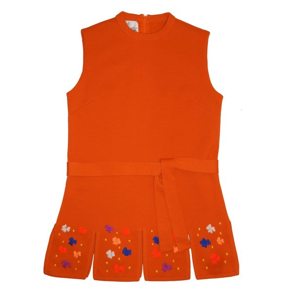 Vintage Retro Sweater Mini Dress/Tunic