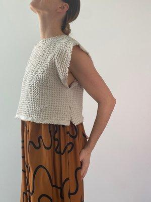 Vildblume The Marilyn Midi Dress - Squiggle