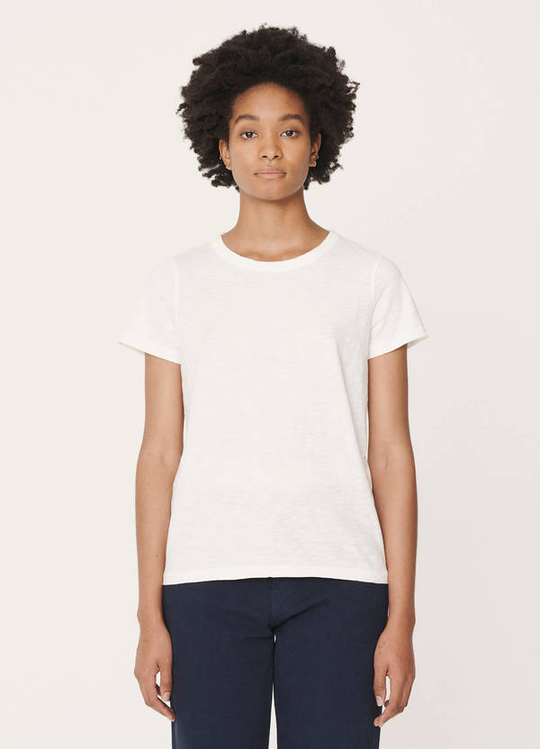 Day Cotton Jersey T-Shirt Ecru