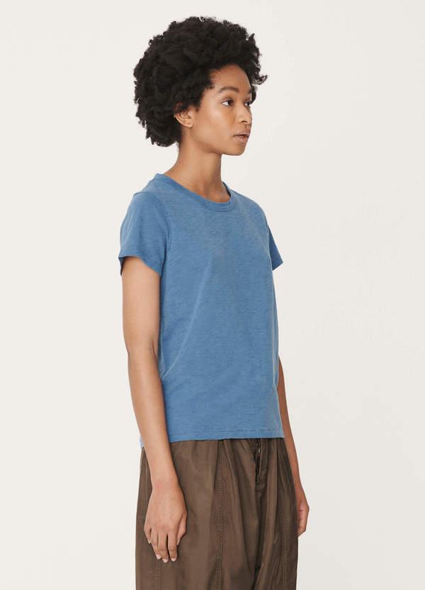Day Cotton Jersey T-Shirt Blue
