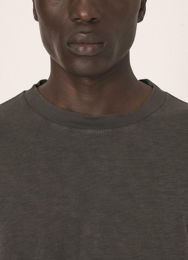 Triple Cotton Slub Jersey T-Shirt Dark Olive